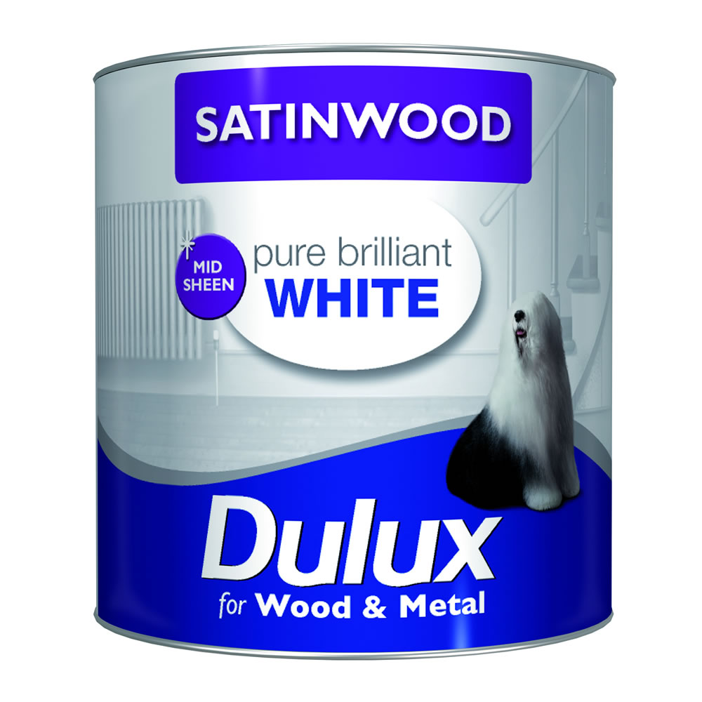 dulux satinwood pure brilliant white dulux satinwood pure. Black Bedroom Furniture Sets. Home Design Ideas
